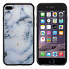 Colorfone BackCover Marble Glitter voor Apple iPhone 8 Plus/7 Plus Blauw