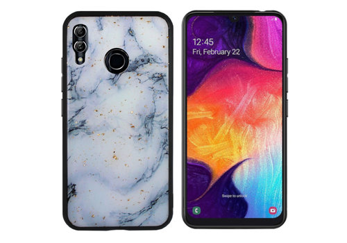 Colorfone BackCover Marble Glitter M20 Blue