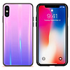 Colorfone BackCover Aurora Glass voor Apple iPhone X/XS Roze