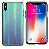 Colorfone BackCover Aurora Glass voor Apple iPhone X/XS Blauw