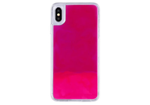 Colorfone Liquid Neon iPhone X/XS Roze