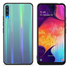 Colorfone BackCover Aurora Glass voor Samsung A70 Blauw