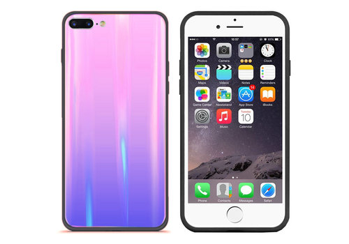 Colorfone Aurora Glass iPhone 8 Plus/7 Plus Roze