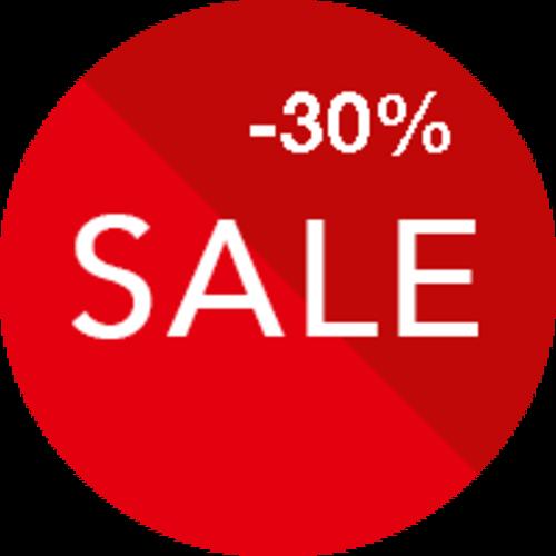 Sale 30% off