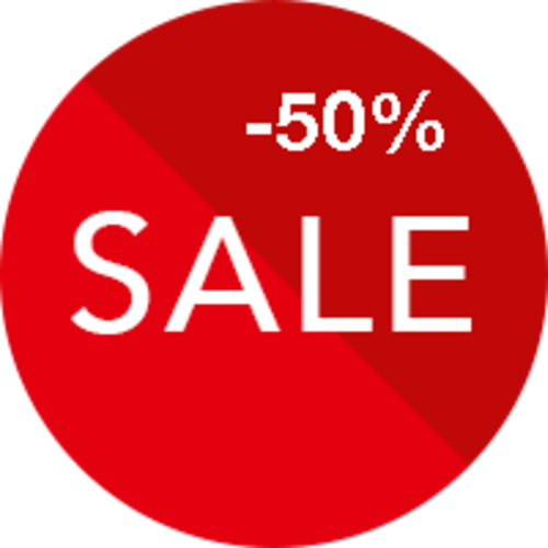 Verkauf 50% Rabatt