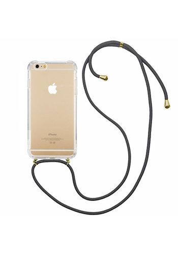 Colorfone Stoßfestes Kabel iPhone 8 Plus / 7 Plus Transparent