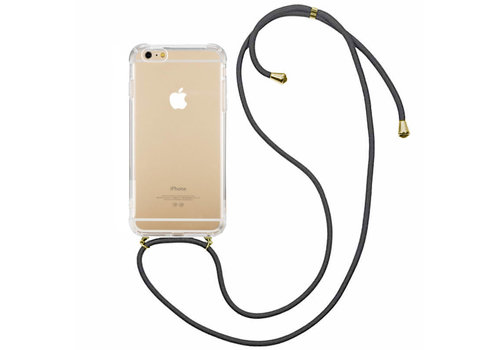 Colorfone Shockproof Koord iPhone 8 Plus/7 Plus Transparant