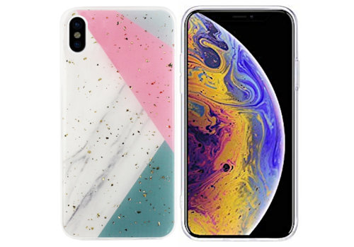 Colorfone Marble Glitter iPhone X / Xs Gray