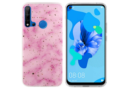 Colorfone Marble Glitter P20 Lite 2019 Pink