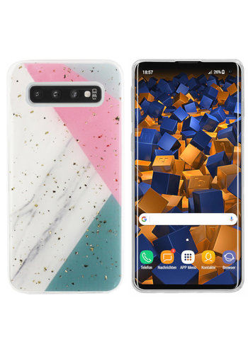Colorfone Marble Glitter S10 Plus Grijs