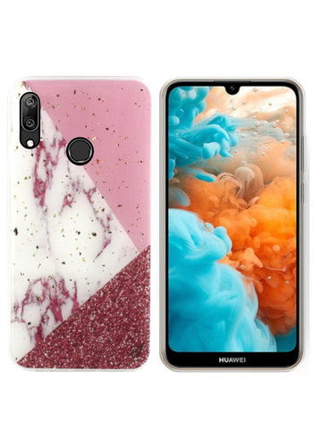 Colorfone Marble Glitter Y6 2019 Wit