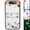 Colorfone BackCover Magic Glass voor Samsung A80/A90 Roos
