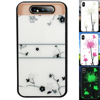 BackCover Magic Glass voor Samsung A80/A90 Roos
