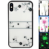 Colorfone BackCover Magic Glass voor Apple iPhone Xs Max Roos