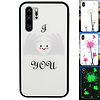 Colorfone BackCover Magic Glass voor Huawei P30 Pro Hart