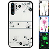 Colorfone BackCover Magic Glass voor Huawei P30 Pro Roos