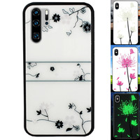 BackCover Magic Glass voor Huawei P30 Pro Roos
