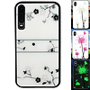 Colorfone BackCover Magic Glass voor Huawei P30 Roos