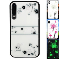 BackCover Magic Glass voor Huawei P30 Roos