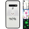 Colorfone BackCover Magic Glass voor Samsung S10 Hart