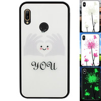 BackCover Magic Glass voor Huawei Y6 2019 Hart
