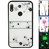 Colorfone BackCover Magic Glass voor Huawei Y6 2019 Roos