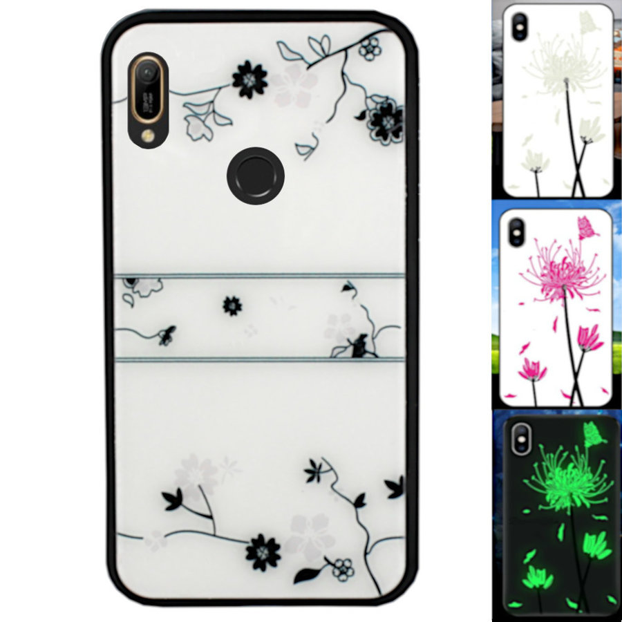 BackCover Magic Glass voor Huawei Y6 2019 Roos