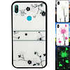 Colorfone BackCover Magic Glass voor Huawei Y7 2019 Roos