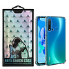 Atouchbo Backcover Anti-Shock TPU + PC voor Huawei P20 Lite 2019 Transparant