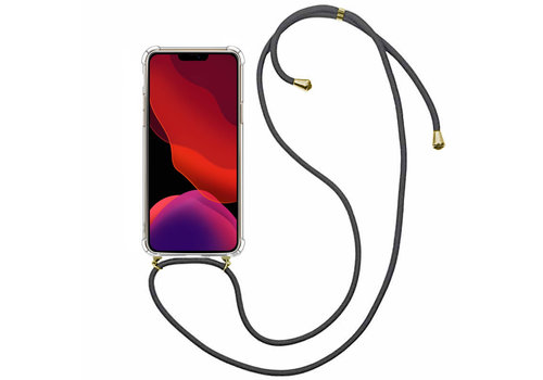 Colorfone Shockproof Koord iPhone 11 Pro (5.8) Transparant