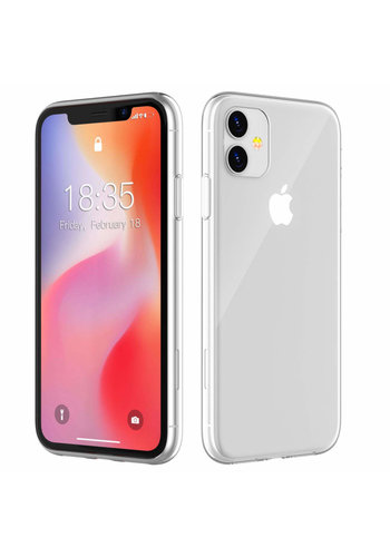 Colorfone CoolSkin3T iPhone 11 (6.1) Tr. Wit