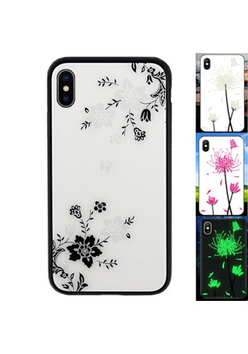 Colorfone Magisches Glas iPhone Xs Max Flower1