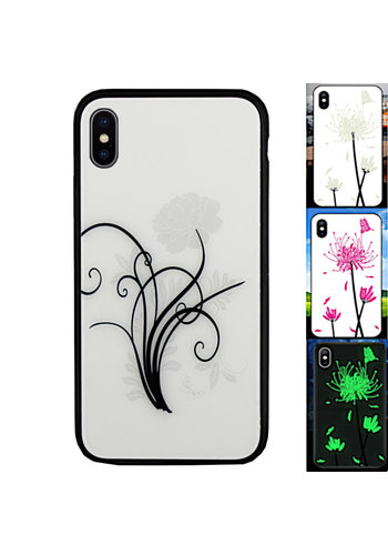 Colorfone Magisches Glas iPhone Xs Max Flower2