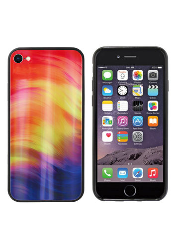 Colorfone Aurora Glass iPhone SE 2020/8/7 Fioletowy