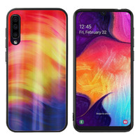 BackCover Aurora Glass voor Samsung A50 Paars