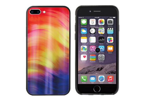 Colorfone Aurora Glass iPhone 8 Plus/7 Plus Paars