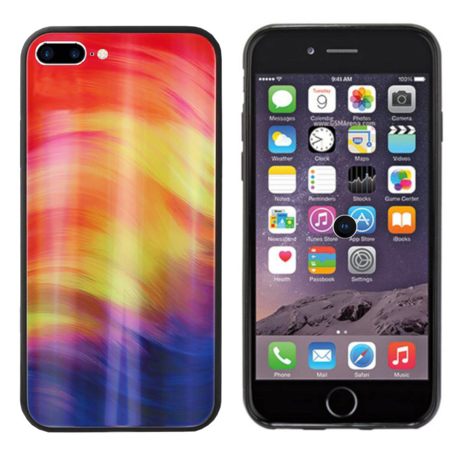 BackCover Aurora Glass do Apple iPhone 8 Plus / 7 Plus Fioletowy