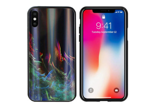 Colorfone Aurora Glass iPhone X/XS Groen
