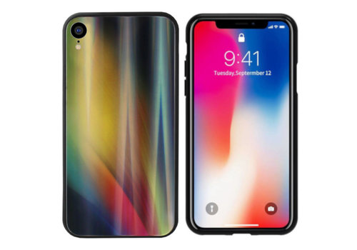 Colorfone Aurora Glass iPhone X/XS Geel