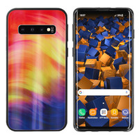 BackCover Aurora Glass voor Samsung S10 Paars