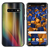Colorfone BackCover Aurora Glass voor Samsung S10 Plus Geel