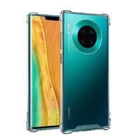 Backcover Anti-Shock TPU + PC voor Huawei Mate 30 Transparant