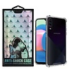 Atouchbo Backcover Anti-Shock TPU + PC voor Samsung A30S Transparant