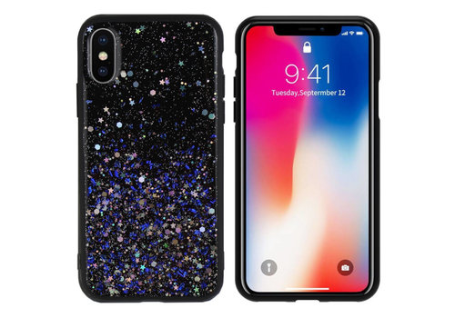 Colorfone Spark iPhone Xs Max Blauw