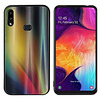 Colorfone BackCover Aurora Glass voor Samsung A10S Geel