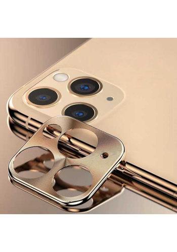 Colorfone Metal Camera Lens Protector iPhone 11 Pro (5.8)/11 Pro Max (6.5) Goud