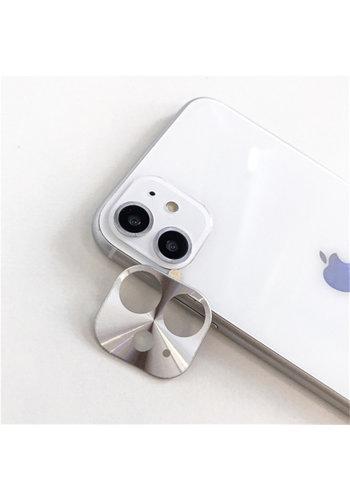 Colorfone Metal Camera Lens Protector iPhone 11 (6.1) Zilver