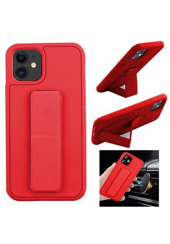 Colorfone Uchwyt iPhone 11 (6.1) Czerwony