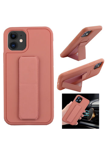 Colorfone Grip iPhone 11 (6.1) Roze