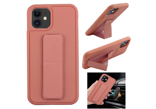 Colorfone Grip iPhone 11 (6.1) Roze